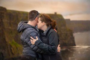 Engagement Photography At Cliffs of Moher