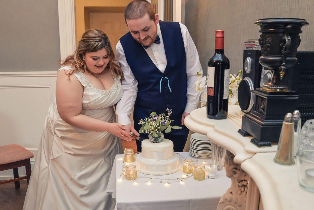 Wedding Photography Cake Cutting